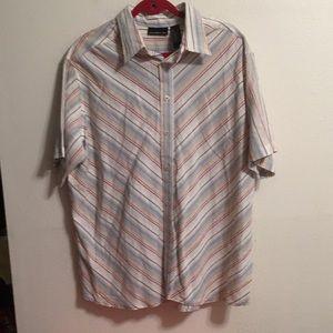 DKNY half sleeve shirt NWOT size XL